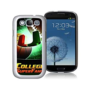 SevenArc NCAA Miami (FL) Hurricanes Samsung Galaxy S3 I9300 Hard Cover Case 2014 Style
