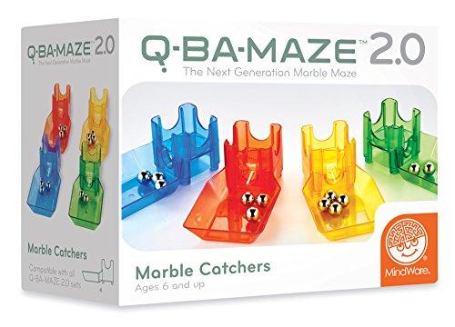 MindWare Q-BA-Maze 2.0 Starter Sets (Marble Catchers) from MindWare