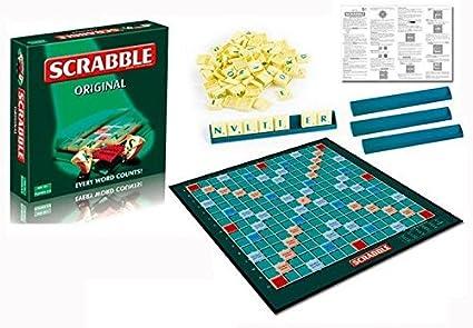 New Scrabble Original Board Game French