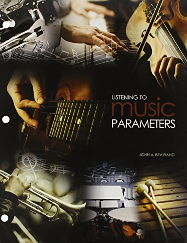Listening to Music Parameters