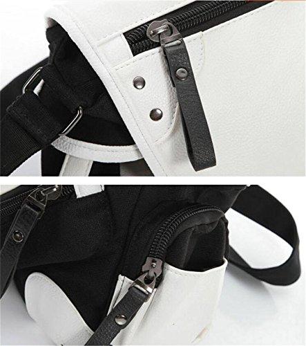 JUSTGOGO Casual Messenger Bag Crossbody Bag Shoulder Bag Travel Bag Handbag Tote Bag (1) by JUSTGOGO (Image #2)