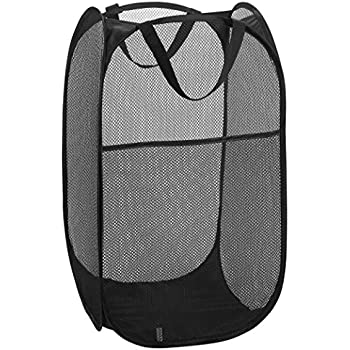 ccf17fb0f4ce Mesh Popup Laundry Hamper - Portable, Durable Handles, Collapsible for  Storage and Easy to Open. Folding Pop-Up Clothes Hampers Are Great for the  Kids ...