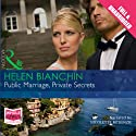 Public Marriage, Private Secrets Audiobook by Helen Bianchin Narrated by Nicolette McKenzie