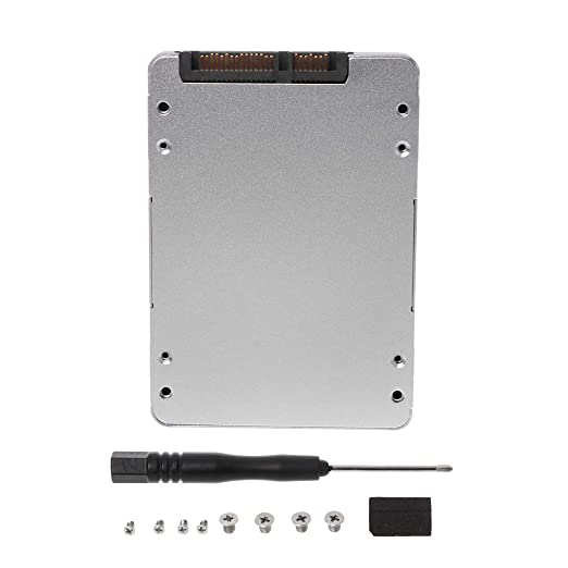 WINJEE, Mini SATA USB 2.0 a SATA SSD Adaptador Carcasa HDD Externa ...