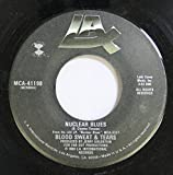 BLOOD SWEAT & TEARS 45 RPM NUCLEAR BLUES / AGIGATO