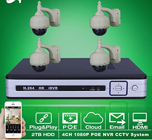 gowe-4ch-nvr-poe-cctv-system-2tb-hdd-onvif-1080p-hd-email-alarm-ir-pan-tilt-poe-ip-camera-security-s