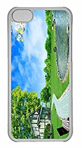 iPhone 5C Case, Personalized Custom Dreamscape Summer for iPhone 5C PC Clear Case