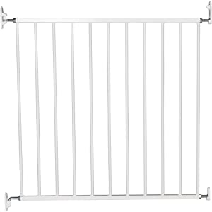 BabyDan No Trip Screw Mounted Gate White