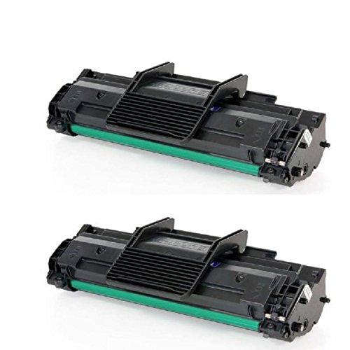 2 Toners 1610 Preto Compatível 100% novo Samsung - Impressoras Scx 4521 Ml 2010 Ml 1610