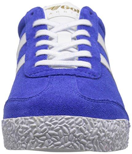 Gola Kvinna Harrier Mode Sneaker Reflex Blå / Vit