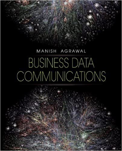 Book Business Data Communications 1st edition by Agrawal, Manish (2011)