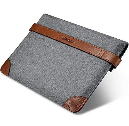 キャンバススリーブ iPad Pro ケース Yeitur タブレットバッグ オフィス保護ポーチ スリム ビジネスキャリーケース プロテクター - Grau Yeitur  iPad (Pro) 9,7\ B07GDFTNKD