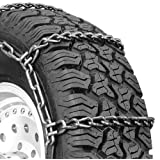 Security Chain Company QG2437 Quik Grip Truck Singles Mud Service Tire Traction Chain - Set of 2