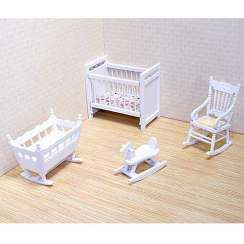 Melissa & Doug Deluxe Doll - House Nursery Furniture