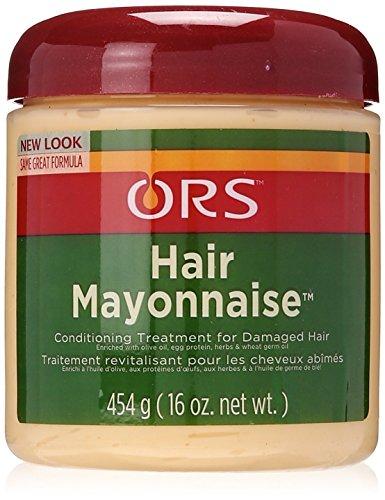 Hair Olive Mayonnaise Oil (Organic Root Stimulator Hair Mayonnaise Treatment, 16 Ounce)