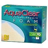 Aquaclear 70-Gallon Foam Inserts, 3-Pack