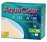 Aquaclear 70-Gallon Foam Inserts, 3-Pack (Misc.)