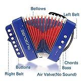 MUSICUBE 10 Keys Accordion, Kids Toy