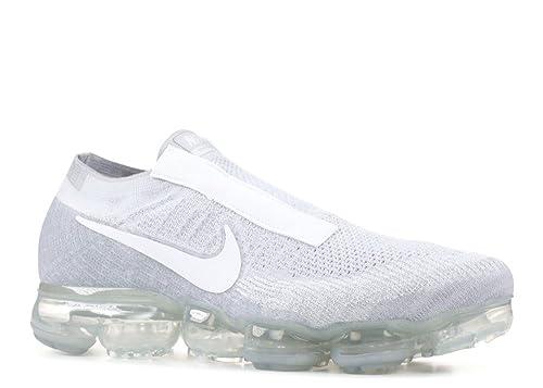 e0e4ebbd0b Nike Air Vapormax Flyknit SE Laceless AQ0581-002 Platinum/White Men's Shoes  (10.5