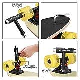 Kcallspee Skateboard Tool, T Skate Tool and Allen