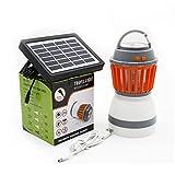 Duckart Mosquito Killer Lamp Portable LED Camping Light Solar Panel USB Charging Pest Repeller Waterproof Outdoor Camping Garden