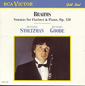 Brahms: Sonata For Clarinet & Piano, Op. 120