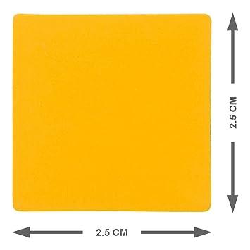 25 Imanes Wied erbesch escribirse 2,5 x 2,5 cm para para ...