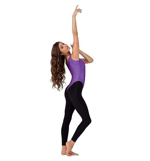 285c10941ef1 Amazon.com: HeroStore Women's Nylon Lycra Tank Thong Leotard for Gymnastics  Dance Leotards Girls Ballet Dance Tops Spandex Skin Tights Garment: Kitchen  & ...