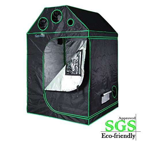 Quictent SGS Approved Eco-friendly 48u2033x48u2033x71u2033 Roof Cube Grow Tent ...  sc 1 st  Apartment Gardening & Quictent SGS Approved Eco-friendly 48