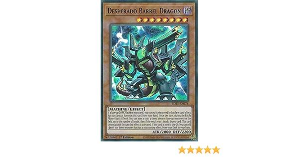 3 X DESPERADO BARREL DRAGON 1ST ED BLUE GREEN /& PURPLE RARE NM//MINT LDS1-EN076