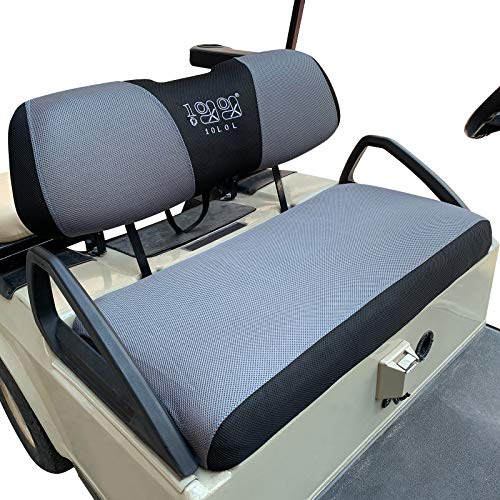 10l0l Golf Cart Bench Seat Cover Set Washable Polyester