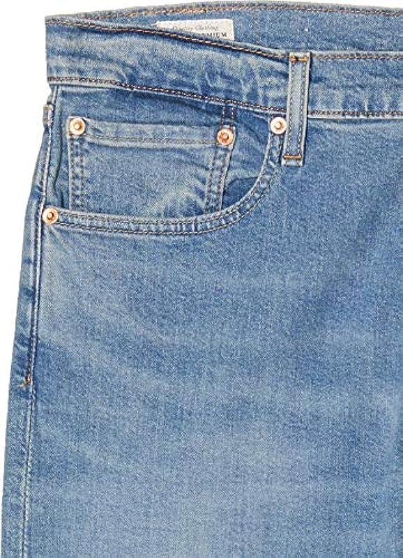 Levi's Męskie 512 Slim Taper Tapered Fit dżinsy Pelican Rust, 33W / 32L: Odzież