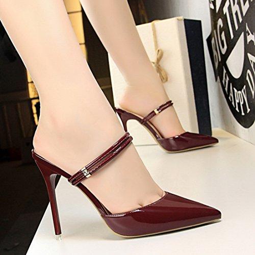 Para Zapatos De ds86 11 Mujer Miyooparkuk Sintético Miyoopark Granate Vestir ApqRwxf6nF