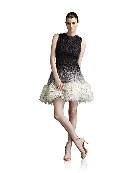 Amazon.com: Fabiola Arias Allover Pétalo de la mujer vestido ...