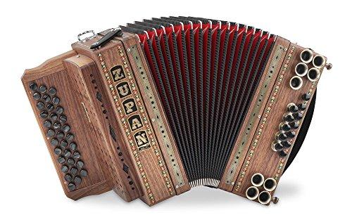 Zupan Eco 3 Ii Harmonika G C F Eco Serie 33 Diskantknopfe 3
