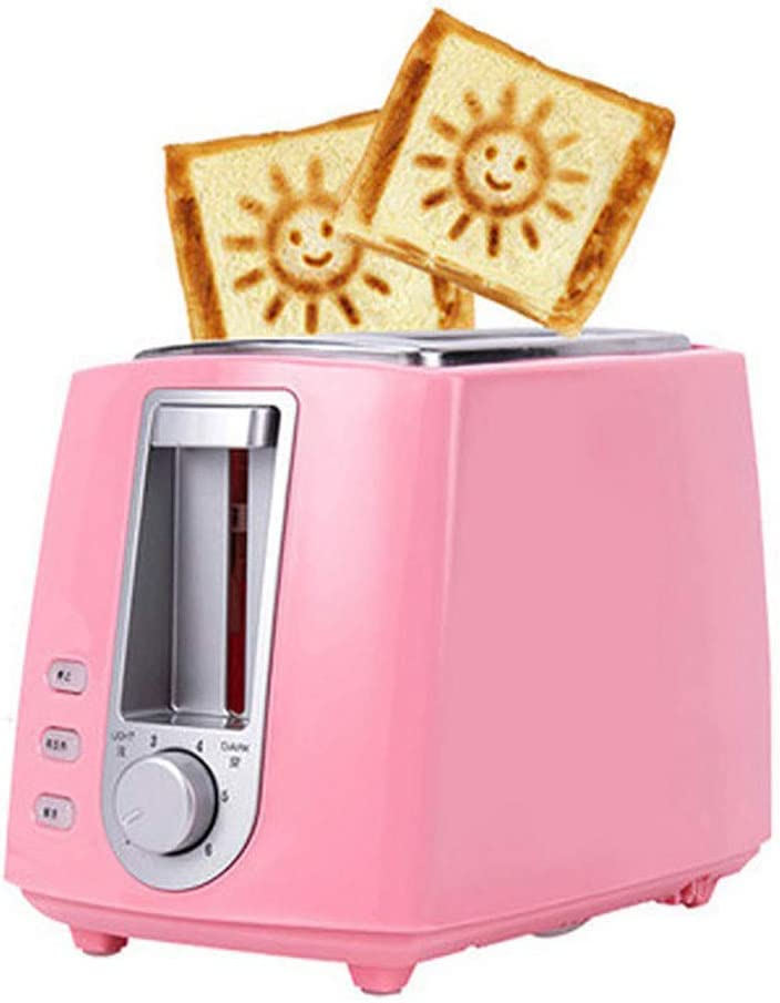 2 Slice Toaster, Bread Toaster with 6 Browning Settings and Defrost Reheat and Cancel Functions