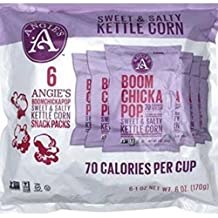 Angies Boom Chicka Pop 1 Ounce Sweet N Salty Kettle Corn, 6 count per pack - 4 per case.