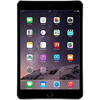 Apple MGNR2LL/A iPad mini 3 (Space Gray) - (1.3 GHz Processor, 1 GB DDR2 RAM, 16GB HDD, Apple IOS 8)
