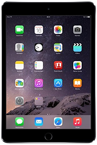 Price comparison product image Apple iPad mini 3 MH3E2LL / A (16GB,  Wi-Fi + Cellular,  Space Gray) 2014 Model