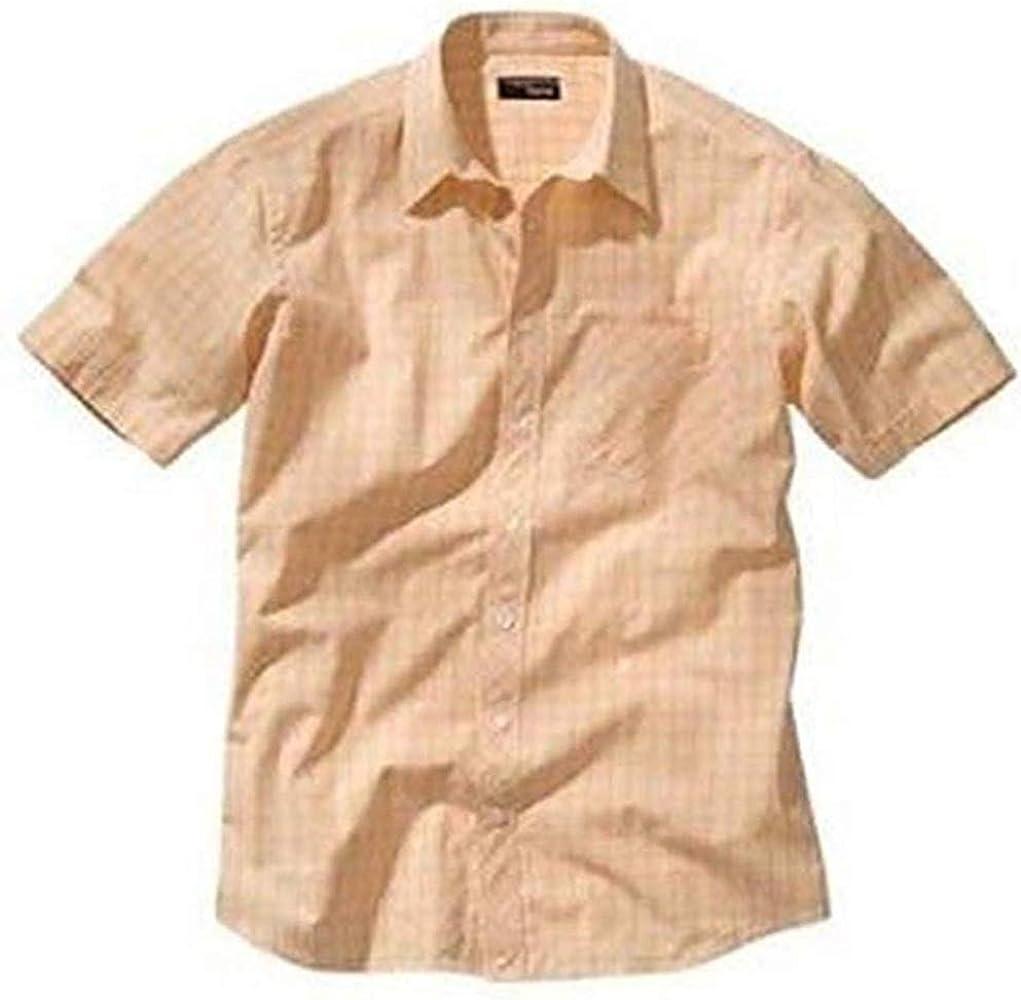 Hermoso Camisa de cuadros de Heine en naranja - algodón, Naranja, 100% algodón, hombre, 39/40: Amazon.es: Ropa y accesorios