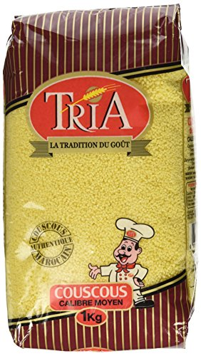 Tria Moroccan Couscous Medium 2lb, 32 Ounces