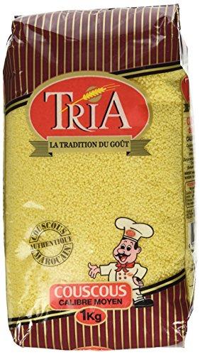 Tria Moroccan Couscous Medium 2lb, 32 Ounces by Tria