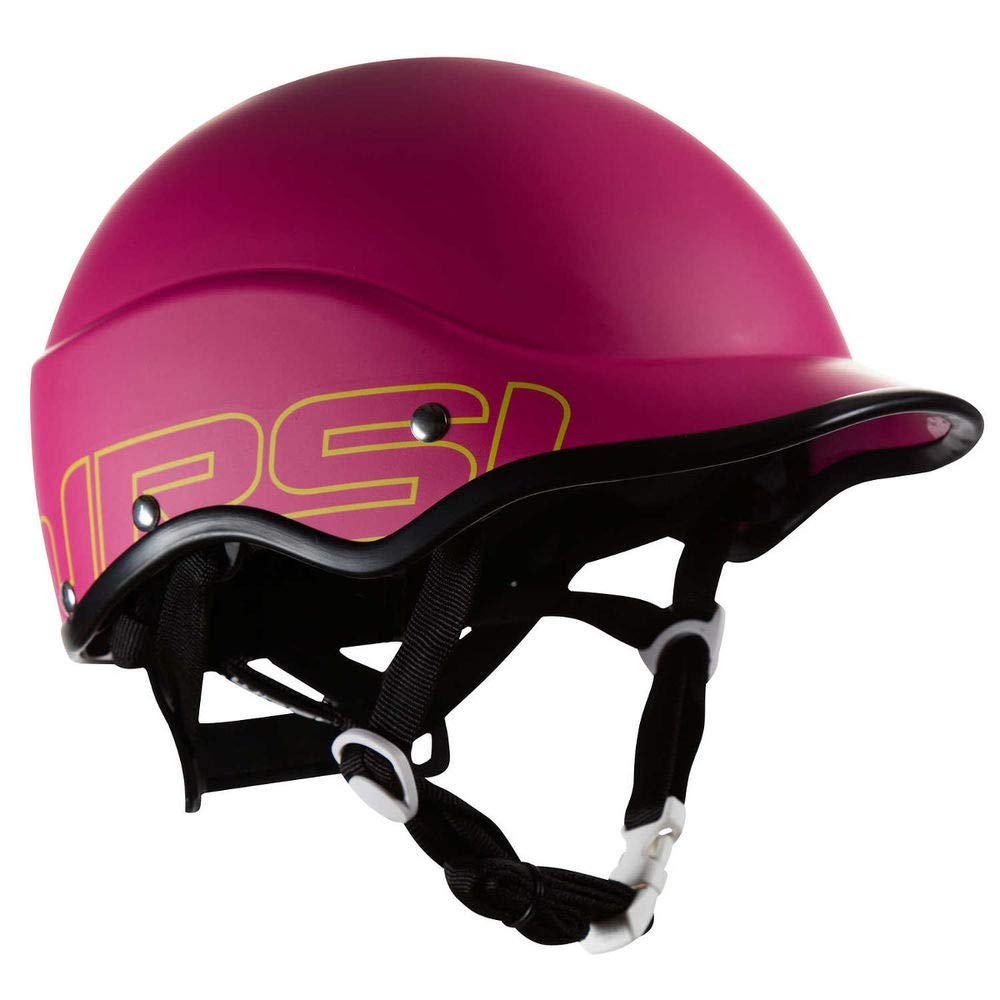 WRSI Trident Composite Helmet Very Berry Red S/M by NRS