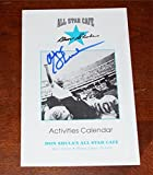 "DON SHULA Signed""ALL-STAR CAFE"" Activities Calendar - MIAMI DOLPHINS - DS1 - NFL Autographed Miscellaneous Items"