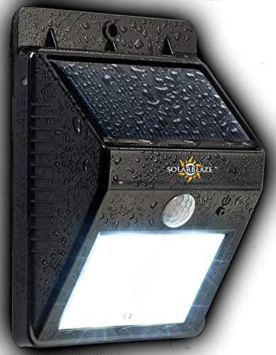 Solarblaze Solar Lights Super Bright Led Security Lighting
