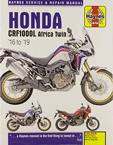 - Honda CRF1000L Africa Twin from 2016-2019 Haynes Repair Manual (Haynes Powersport)
