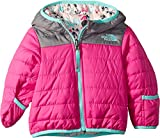 The North Face Infant Reversible Perrito Jacket, Azalea Pink, 3-6 Months