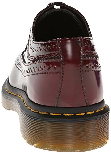 Cherry para Rot Cambridge Color Brush Rojo Rojo cereza mujer Martens cordones de Vegan Zapatos Dr 3989 AqgZ8