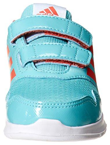 adidas Unisex-Kinder AltaRun CF I Gymnastikschuhe, Grau Blu ( Mensen/Corsen/Agucla)