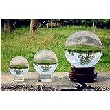 Stand Crystal Ball Asian Natural Quartz Clear Magic Crystal Healing Ball (100mm)